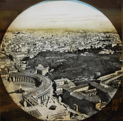 Panorama of Rome - From The Vatican