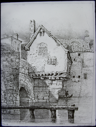 John Flowers' Drawings - Old Chapel At Bridge