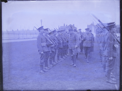 Baden Powell inspecting troops