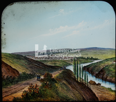 Boer War - view of river