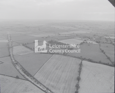 East Of Slawston Aerial Photograph