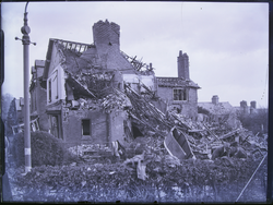 Leicester: Bombed house