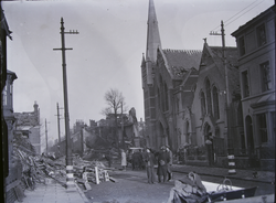 Bombing Damage In Highfields, Leicester