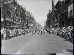 Parade - marching band -Lord Mayor's Show 1961