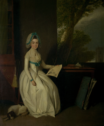 Portrait of Mrs Martha Nichols (1756 - 1788)