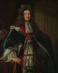 Portrait of John Manners (1676 - 1721) 2nd Duke of Rutland