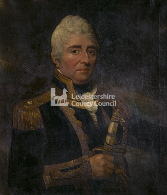 Portrait of Captain Burnaby