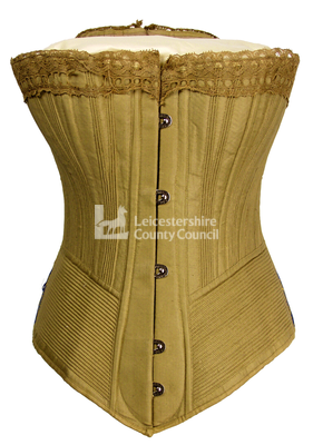 Pretty Housemaid Corset, 1890