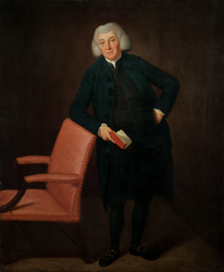 Portrait of Reverend Andrew Burnaby (1734 - 1812)