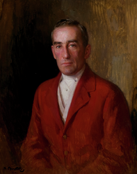 Portrait Of Algernon Burnaby (1868 - 1938)