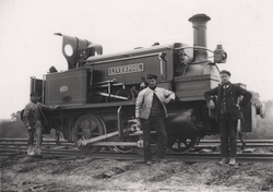 L1007 - Contractors' 0-4-0 saddletank locomotive, LIVERPOOL.