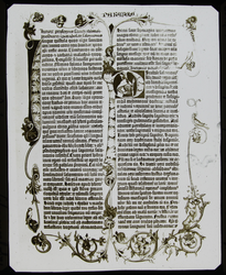 LS1778 - Page From Mazarin Bible