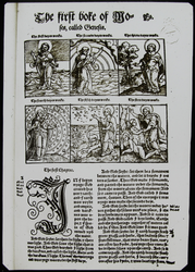 LS1788 - Coverdale's Bible - Book of Genesis, Page One