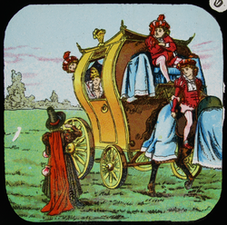 "Cinderella - 6 - ""Then She Kissed Her Kind Godmother, Stepped Into Her Grand Carriage, And Drove Off Gaily"""